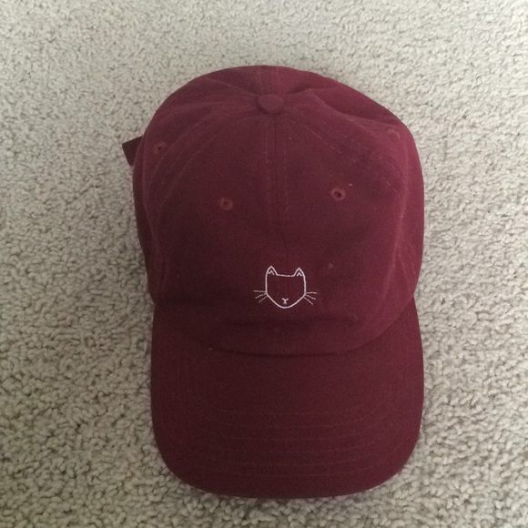 d66a94d19a5 Empyre Accessories - Zumiez Maroon Cat Baseball Cap